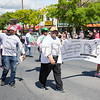 Members of the National Pan-Helenic Council of the Mid-Hudson Valley marched in the City of Newburgh annual Memorial Day Parade on Saturday, May 27, 2017, which proceeded along Broadway to Washington's Headquarters. Hudson Valley Press/CHUCK STEWART, JR.