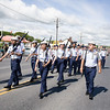 The Newburgh Free Academy JR. ROTC participated in the City of Newburgh annual Memorial Day Parade on Saturday, May 27, 2017, which proceeded along Broadway to Washington's Headquarters. Hudson Valley Press/CHUCK STEWART, JR.