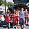 Children lined Broadway to see the City of Newburgh hosted Memorial Day Parade on Saturday, May 27, 2017, which proceeded along Broadway to Washington's Headquarters. Hudson Valley Press/CHUCK STEWART, JR.