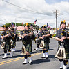 Newburgh Fire Department Pipes and Drums band participated in the City of Newburgh hosted Memorial Day Parade on Saturday, May 27, 2017, which proceeded along Broadway to Washington's Headquarters. Hudson Valley Press/CHUCK STEWART, JR.