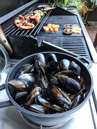 20171125 Mussels on the barbie
