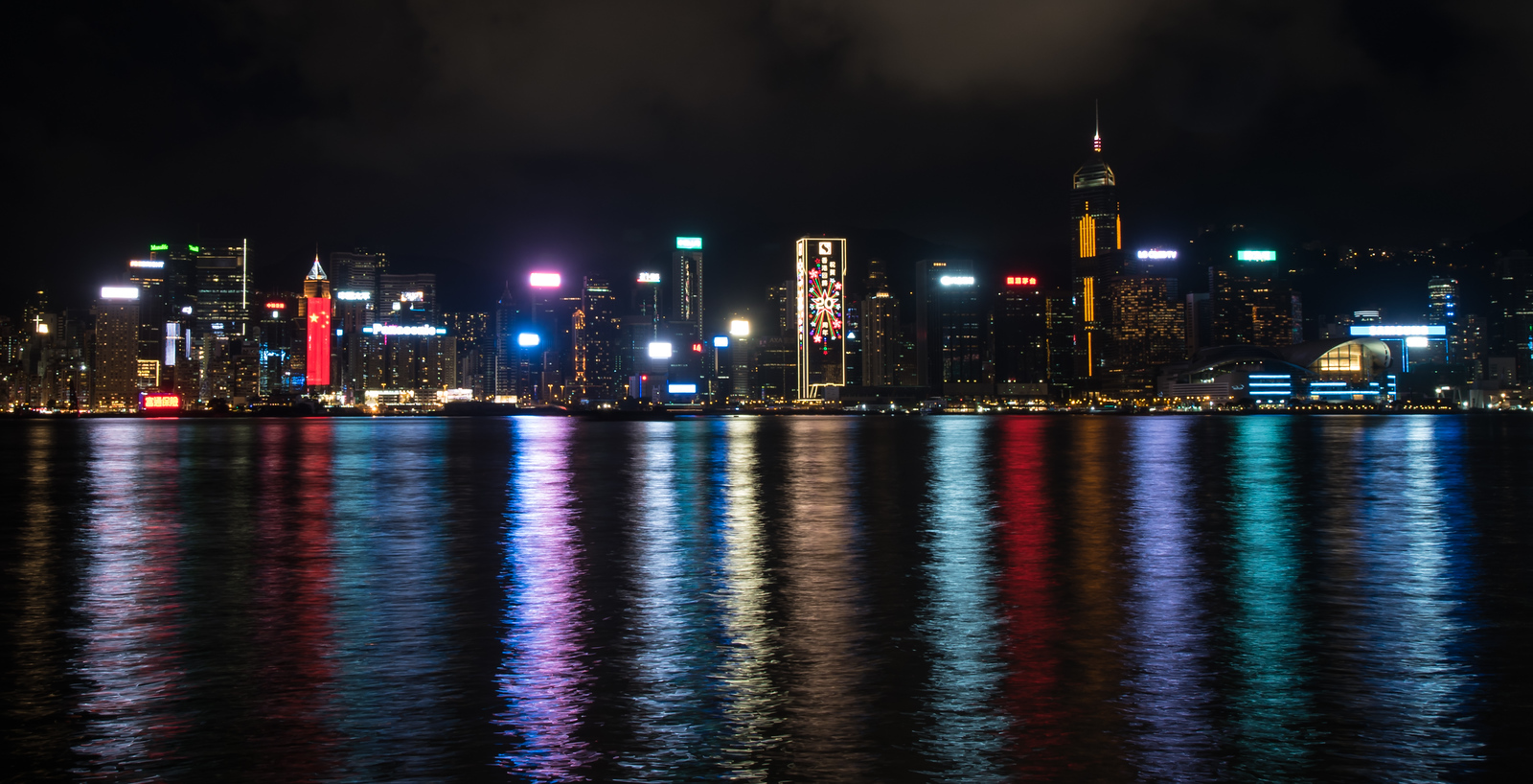 First saw this reflection the night before on the Star Ferry.  Went back with the tripod to get a nicer shot.