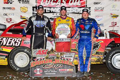 Kyle Bronson (L), Tim McCreadie (C) and Brandon Sheppard (R)