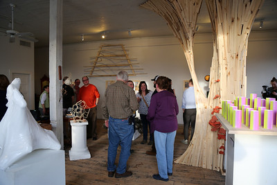 View of the exhibition at the Woolen Mill Gallery (Reedsburg, Wisconsin).