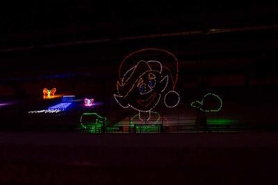Track Christmas Lights-36