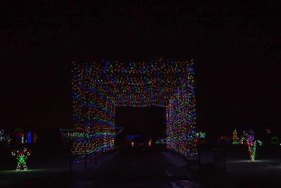 Track Christmas Lights-13