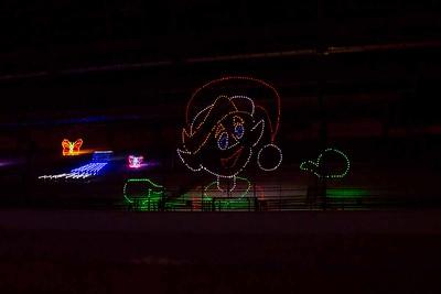 Track Christmas Lights-37