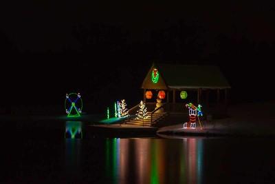 Track Christmas Lights-53