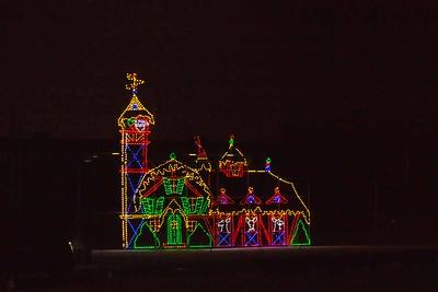 Track Christmas Lights-9