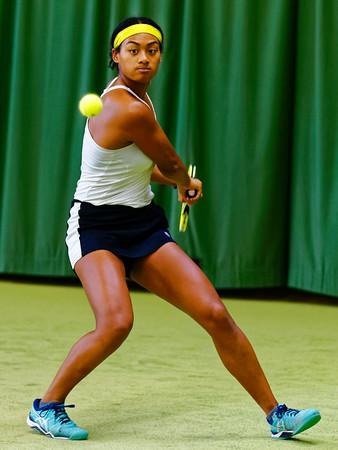 01.02b Dainah Cameron - ITF Heiveld junior indoor open 2017