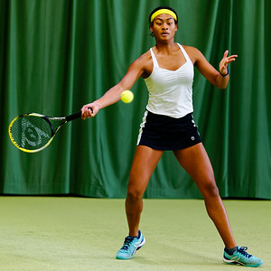 01.02a Dainah Cameron - ITF Heiveld junior indoor open 2017