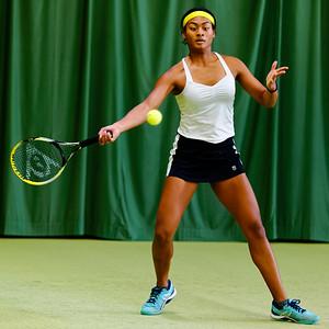 01.02a Dainah Cameron - ITF Heiveld junior indoor open 2017