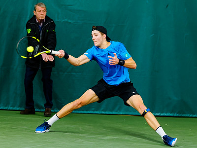 01.04a Tibo Colson - ITF Heiveld junior indoor open 2017