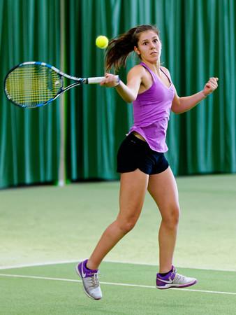 02.02b Victoria Kalaitzis - ITF Heiveld junior indoor open 2017