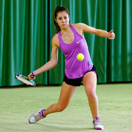 02.02a Victoria Kalaitzis - ITF Heiveld junior indoor open 2017