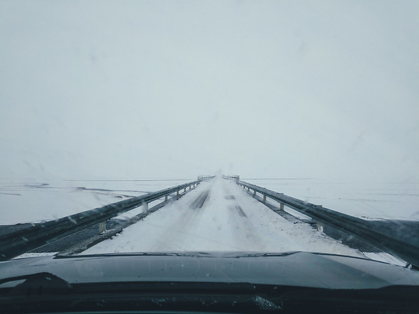 Snowy conditions