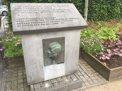 President Kennedy Memorial, Galway-Pat, Rod McNealy