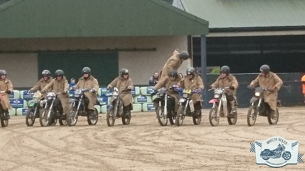 Irish Motorcycle Show Purple helmets