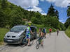 A rest stop in the Ligurian hills