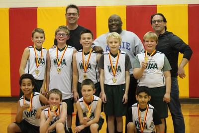 Jan. 15- Quinn's Basketball Team Wins Wheatland League Title