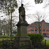 A statue of Sir Thomas White in Coventry.