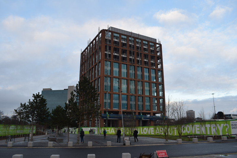 The new Friargate development at Coventry station.