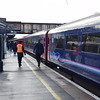 Passengers alight from the 10:31 Oxford-Paddington HST.