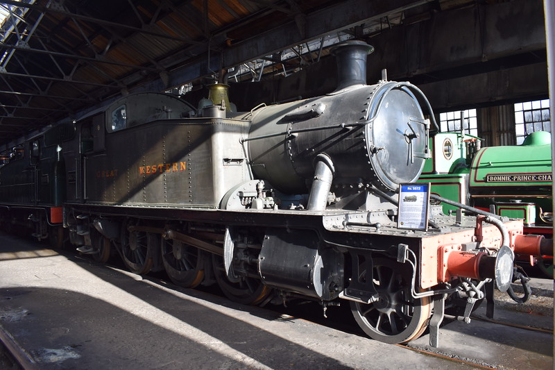 GWR 4575 Class no. 5572 at Didcot Railway Centre.