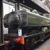 GWR 5700 Class Pannier Tank no. 3650 at Didcot Railway Centre.
