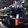 "GWR 4900 Hall Class no. 5900 ""Hinderton Hall"" at Didcot Railway Centre."