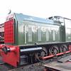 Hunslet diesel shunter no. DL26 at Didcot Railway Centre.
