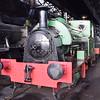 "Stephenson and Hawthorns 0-4-0 saddle tank No.1 ""Bonnie Prince Charlie"" at Didcot Railway Centre."