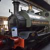 GWR Kitson and Company saddle tank no. 1338 at Didcot Railway Centre.