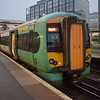Southern Class 377 Electrostar no. 377124 at East Croydon on a Reigate service.