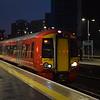 Gatwick Express Class 387 Electrostar no. 387204 passing East Croydon.