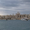 Valletta, Malta's capital, seen from Sliema.