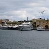 Boats moored at Manoel island, Malta.