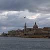 Valletta, Malta's capital, seen from Gzira.