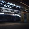 Faversham station with 395029 in the platform.