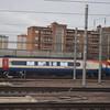 East Midlands Trains Class 222 Meridian no. 222014 leaving London St. Pancras.
