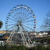 The ferris wheel at Dreamworld, Margate.