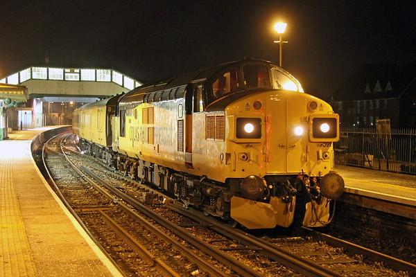 37099 Alton 20/01/17 1Q54 Eastleigh to Hither Green