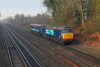 57007 Old Basing 25/01/17 5Z68 Eastleigh to Norwich