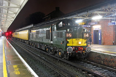 37057 Basingstoke 30/01/17 1Q06 Bristol Temple Meads to Woking