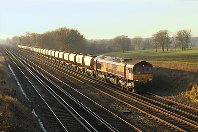 66182 Potbridge 19/01/17 6Z55 Eastleigh to Wembley