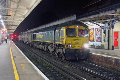 66599 Basingstoke 26/01/17 6O60 Westbury to Northfleet