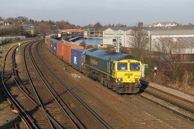 66585 Millbrook 17/01/17 4O70 Wentloog to Southampton