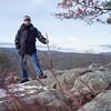 Paul, on Robert's Hill summit. Jan. 2017