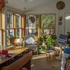 January sunshine, Buki's palatial dog house