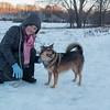 Walk at the Dog Park, Jan. 1, 2017